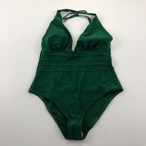 Aibrou XL One Piece Green Swimsuit Bathing Suit